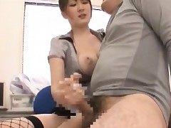uniform porn : japanese office sex