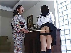 spanking porn : asian girls pussy