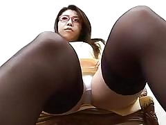 glasses porn : sexy asian nude
