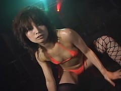 sexy striptease : sexy ass asian