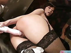 Manami Komukai : asian ass licking